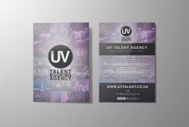 UV Talent Flyer Design